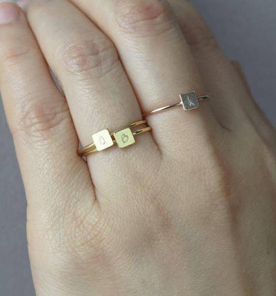 Simple Soldering 201 :: Advanced Stacking Rings