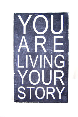 Subway Board - You Are Living Your Story