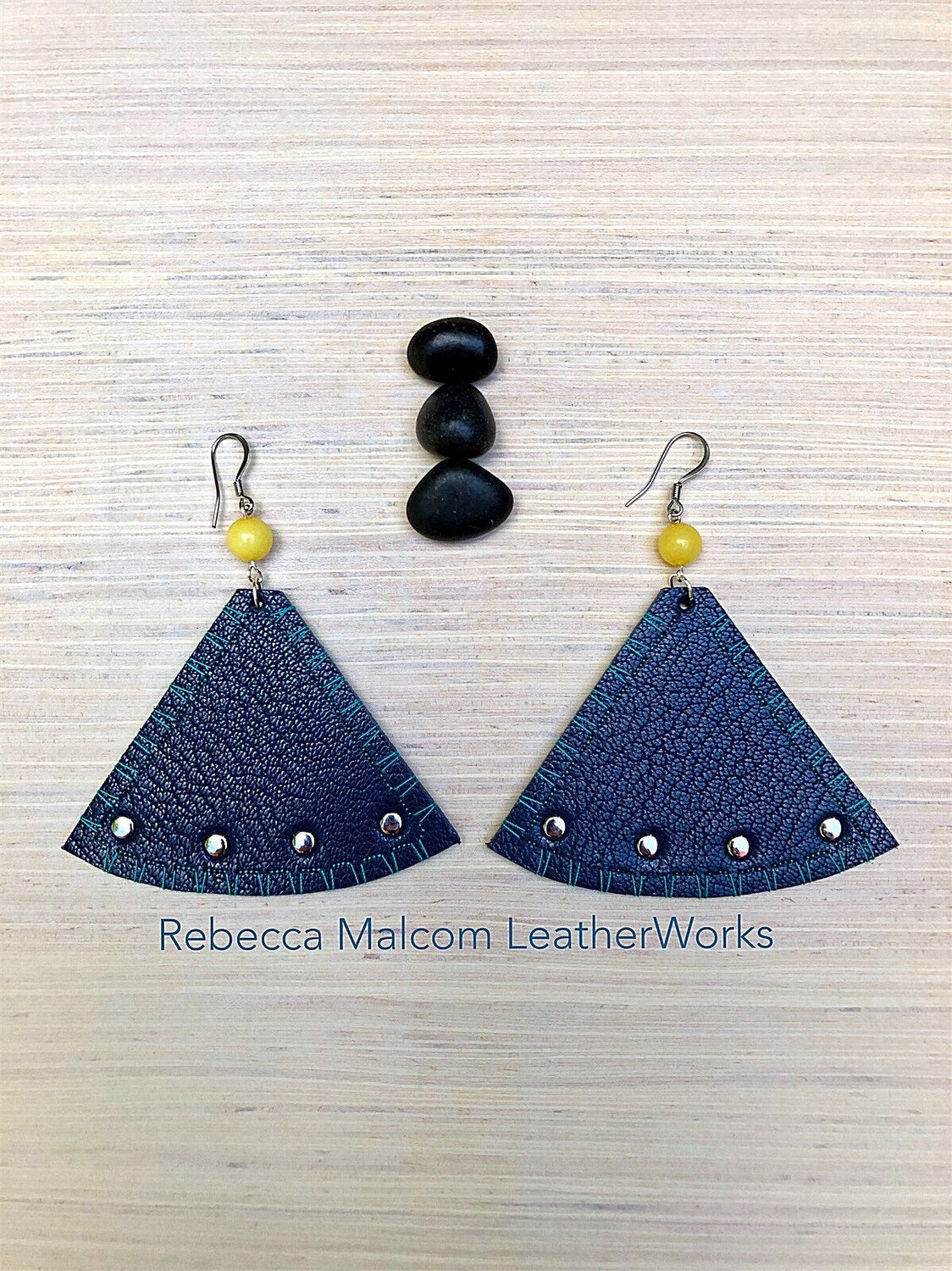 Womens Leather Earrings, Leather Earrings, Statement Earrings, Unique Earrings, Designer Earrings, Womens Earrings, Modern Leather Earrings