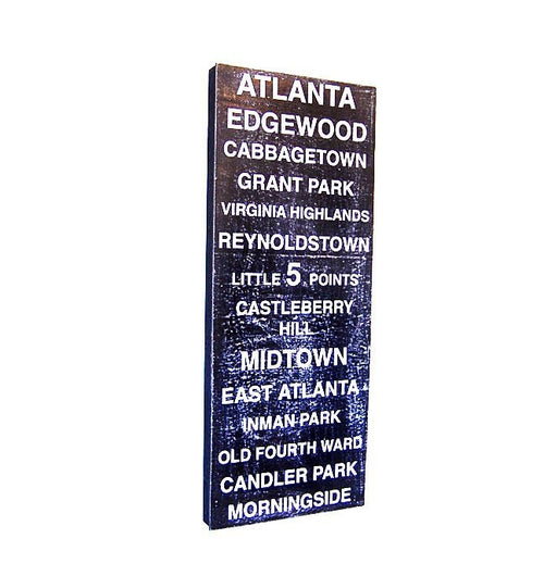Subway Board - Atlanta City Neighborhoods