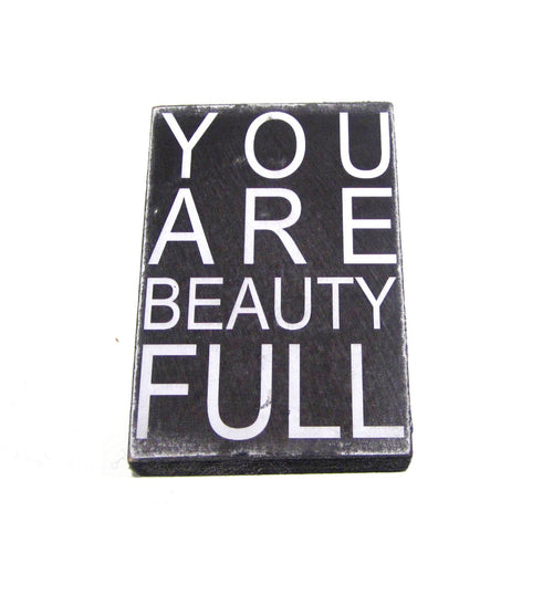 Subway Art Desktop Block - You are Beauty Full