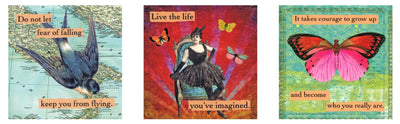 "magnet set by ian nicholas - ""inspirational"""