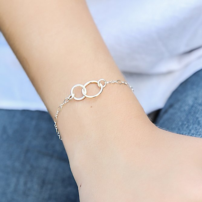 Mix Interlocking Bracelet