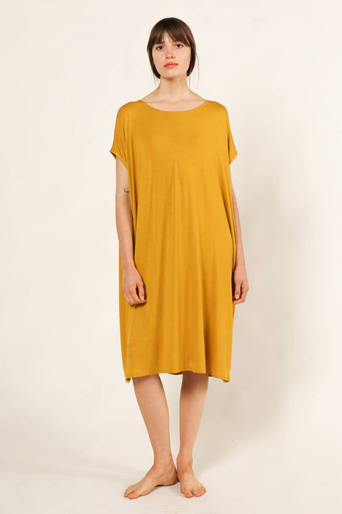 Marigold Modal Tee Dress