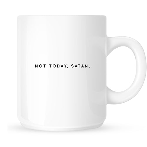 Mug - Not Today Satan