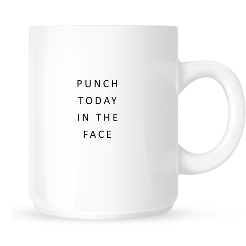 Mug - Punch Today in the Face