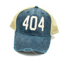 404 Trucker Hat - Navy