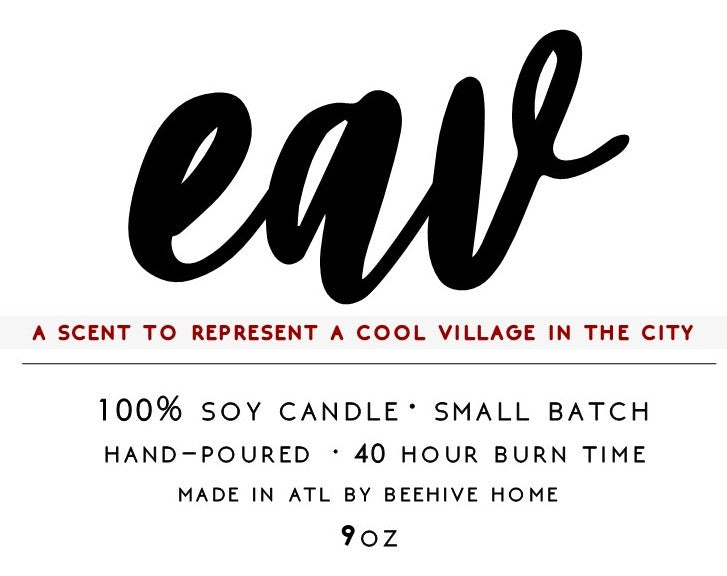 EAV Neighborhood Candle
