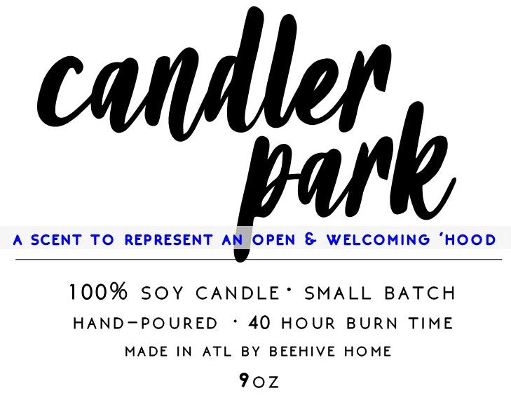 CANDLER PARK Neighborhood Candle