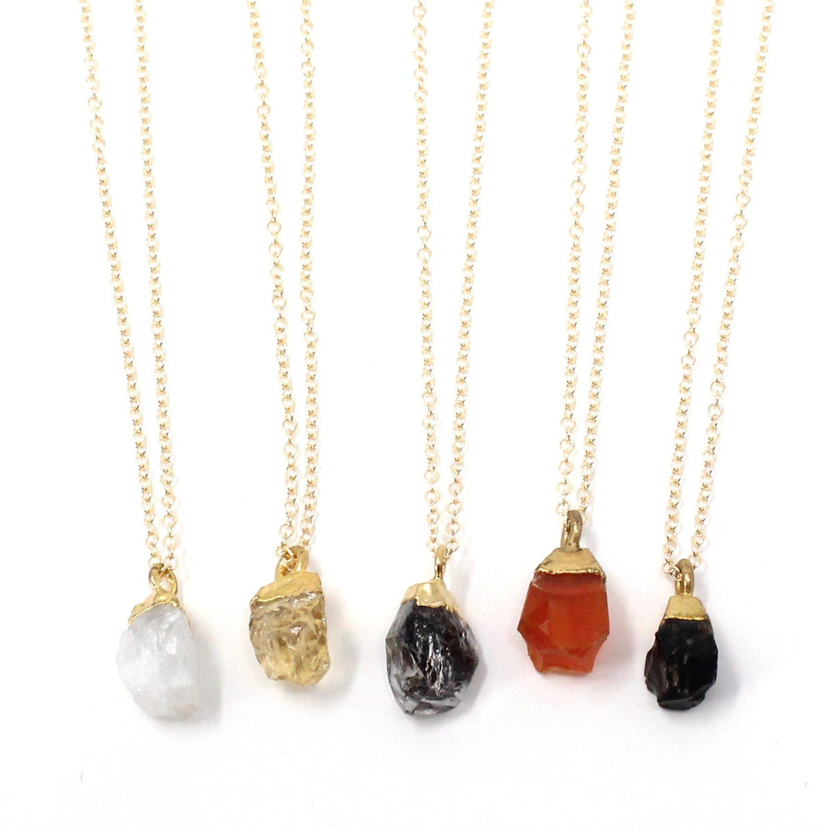 Nugget - raw gold-top nugget necklace