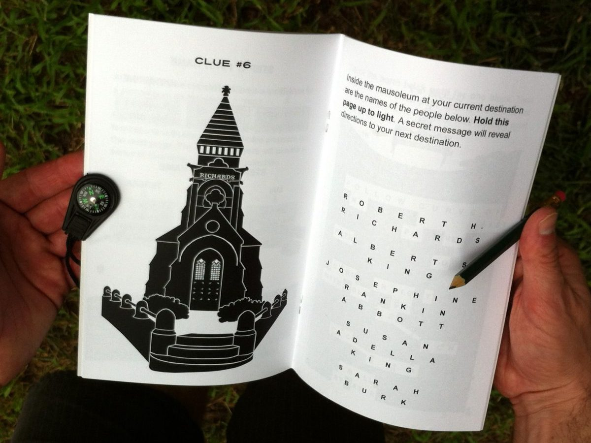 Clue Town Books: Oakland Cemetery