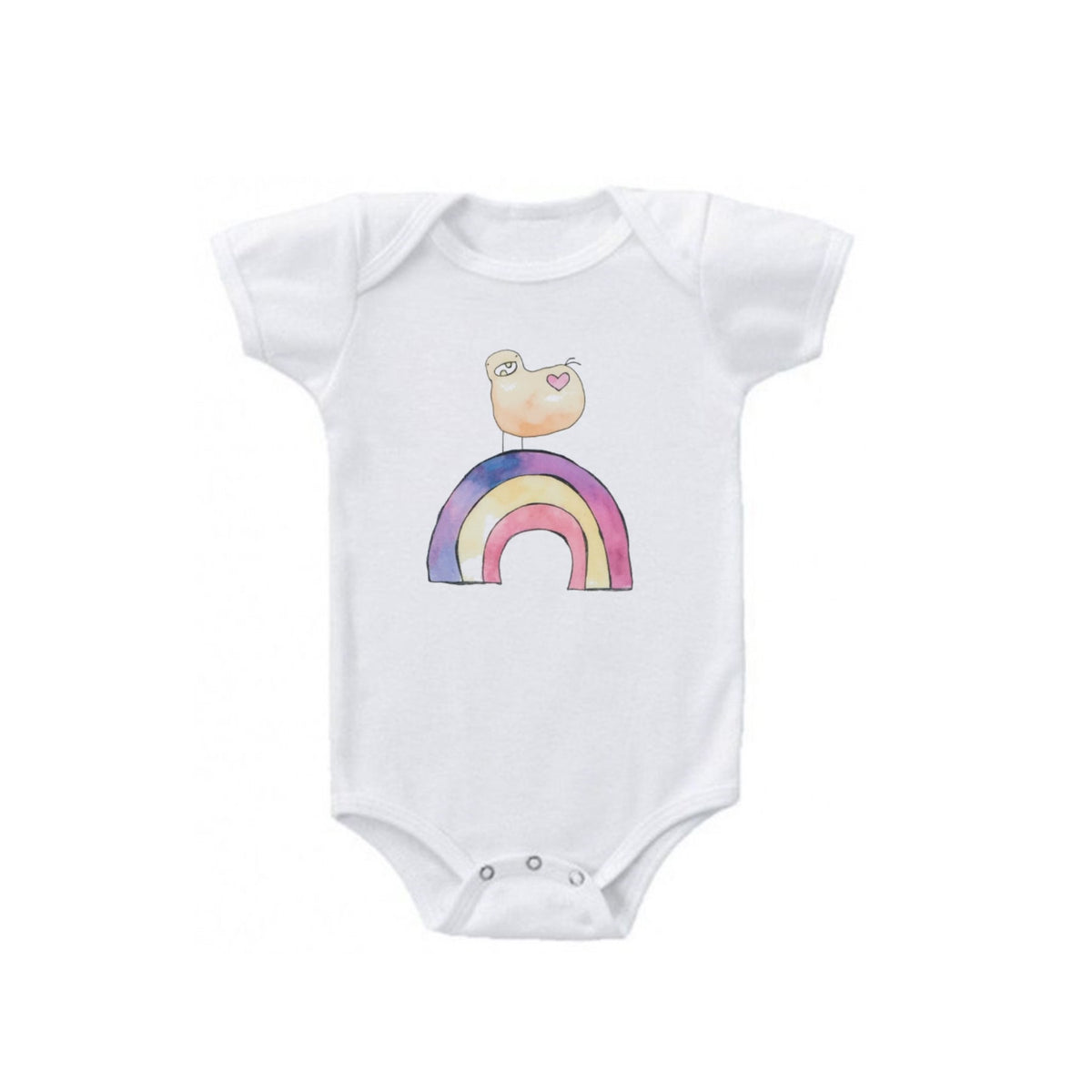 Happy Rainbow Baby Onesie!