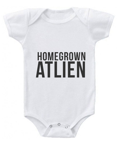 Homegrown Atlien Baby Onesie