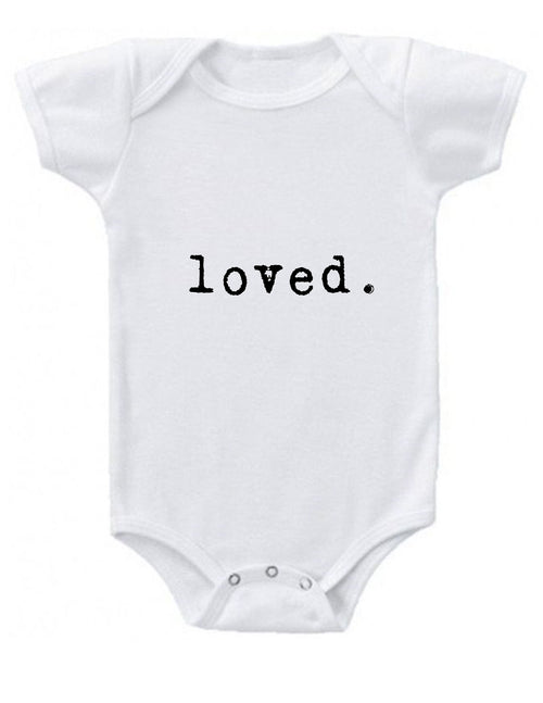 loved Baby Onesie