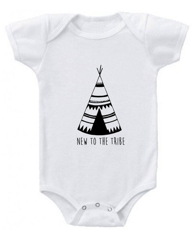 New to the Tribe Baby Onesie