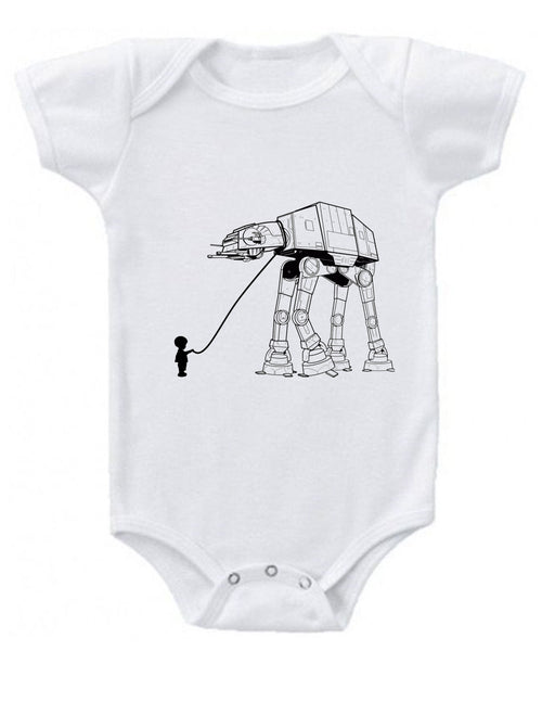 Walk with a Walker Baby Onesie