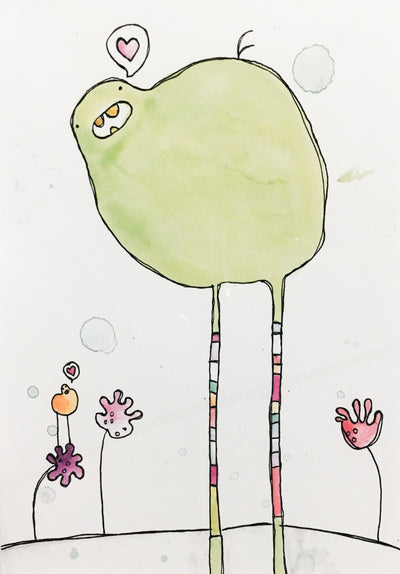 Little Mister Long Legs print