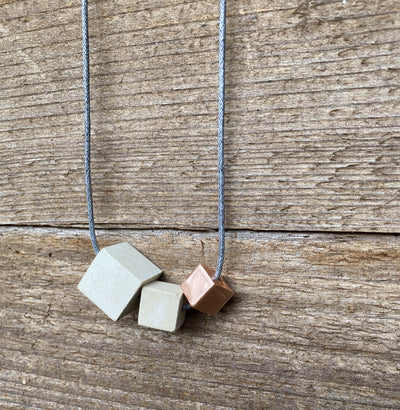Concrete Modern Necklaces