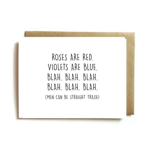Galentine's Day Card - Men Can Be....