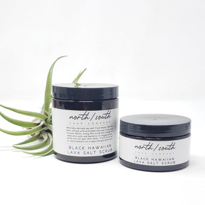 Black Lava Body Salt Scrub