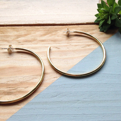 Simple Soldering 102 - Hoop Earrings
