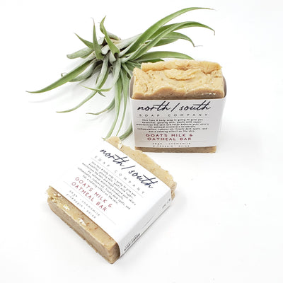 Goats Milk & Oatmeal Bar Natural Soap - Chamomile
