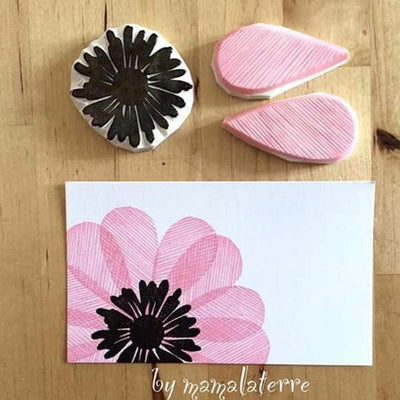Stamp Carving + Journal Making