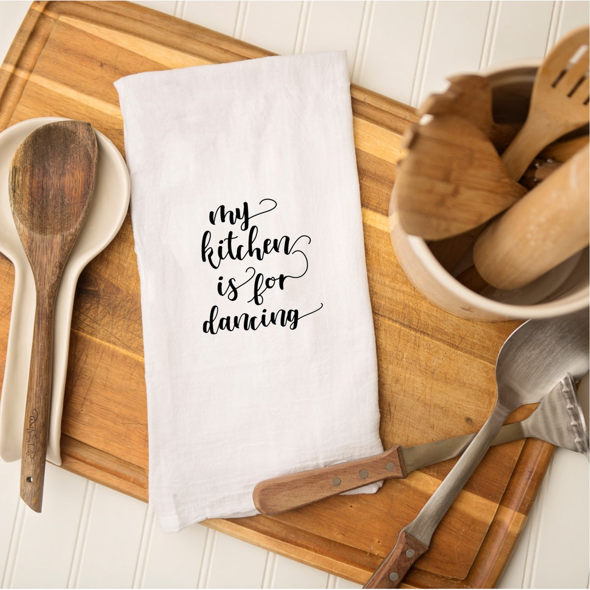 Tea Towel - My Kitchen is for Dancing