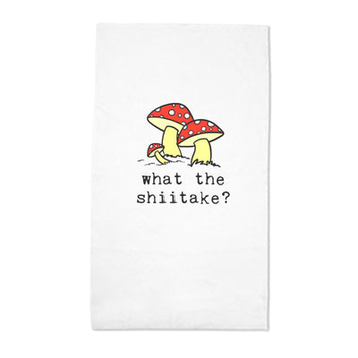 Tea Towel - What the Shiitake?