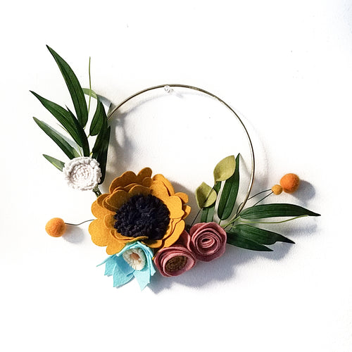 Modern Spring Wreaths Workshop