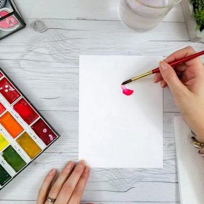 Watercolor 101 :: An Introduction to Techniques, Blending & Tools