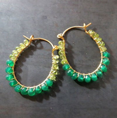 Jewelry 101 :: Wire-Wrapped Statement Earrings