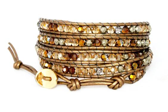 Jewelry 101 : The Woven Wrap Cuff