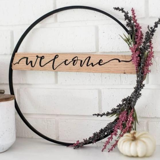 Modern Fall Wreaths Workshop
