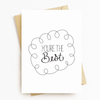 """You're The Best"" Motivational Greeting Card"