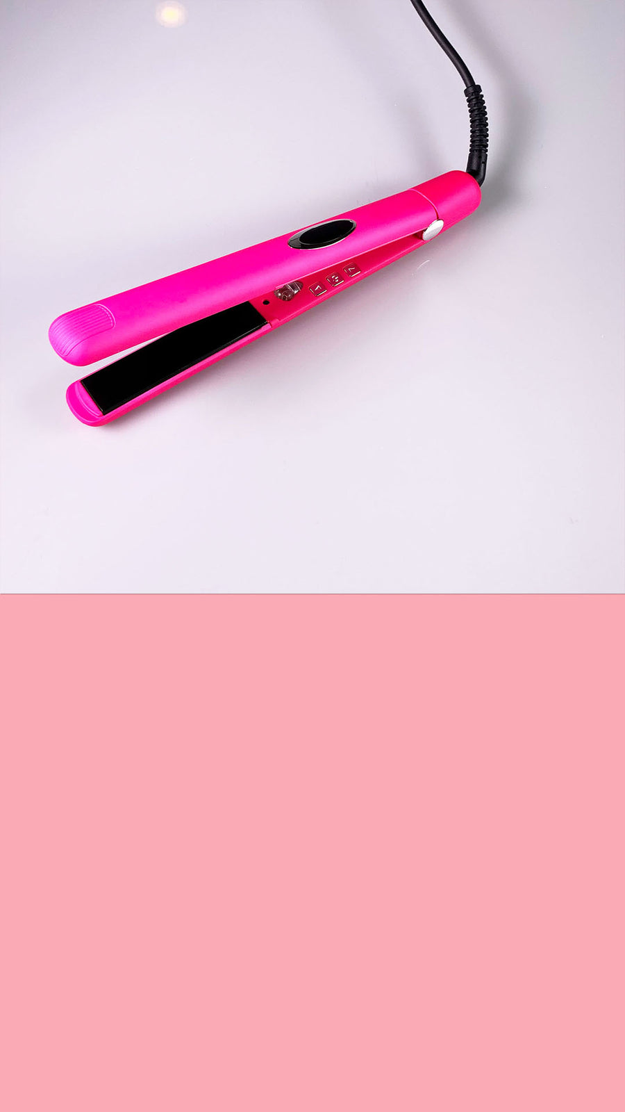Bubble Gum Pink Flat Irons