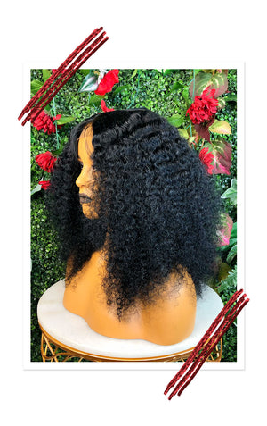 100% Virgin Brazilian Afro Curl