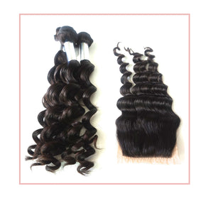 3 Bundle Special Wonderful Wave + Closure