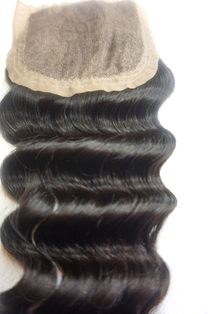 Silk Base Closure