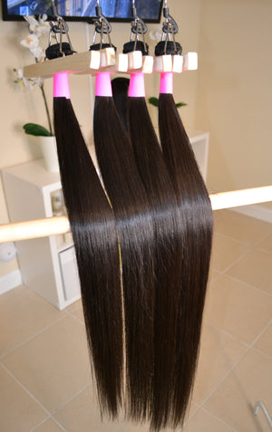 100% Virgin Brazilian Straight Hair