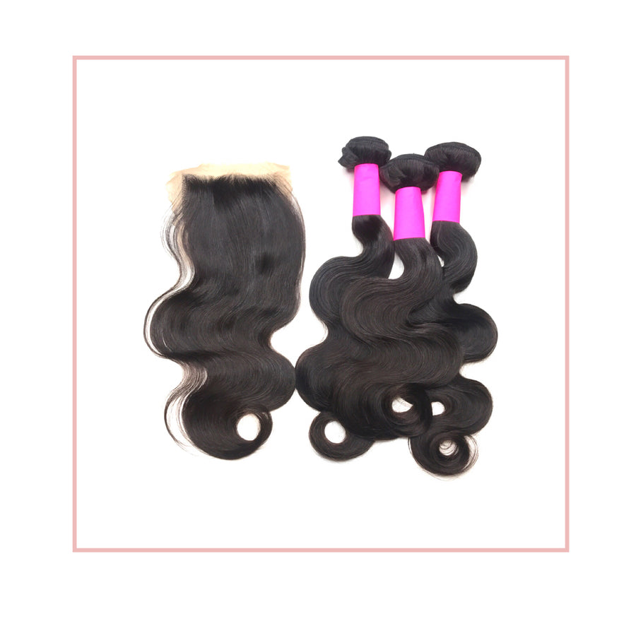 3 Bundle Special Body Wave + Closure