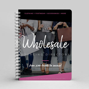 THE ULTIMATE WHOLESALE SOURCING DIRECTORY