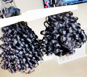 100% Virgin Brazilian Moroccan Curl