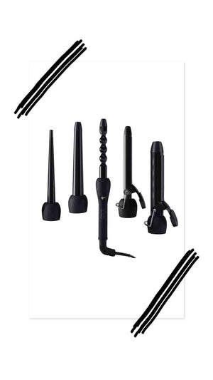 5 in 1 INTERCHANGEABLE CURLING IRON SET