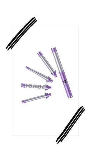 5 in 1 BARREL INTERCHANGEABLE WAND SET