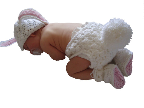Bunny New Baby Photo Prop - TiggiesTinyToes