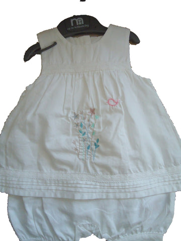 Mothercare Pantaloon Set with Headband - ( with added embroidery ) - TiggiesTinyToes