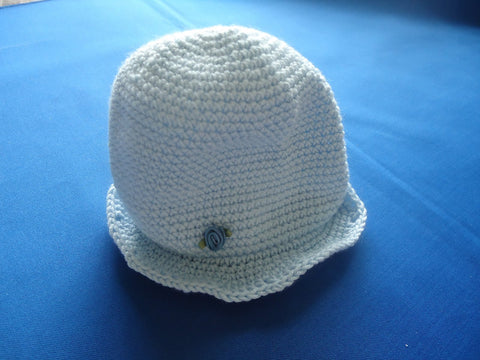 Crochet cotton bell hat - TiggiesTinyToes