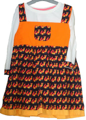 Fox print cotton sundress