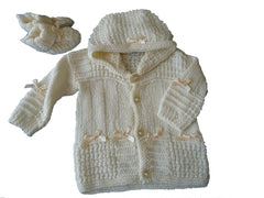 Prem Baby Hooded Jacket - TiggiesTinyToes